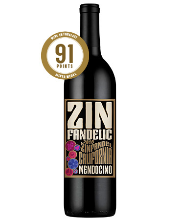 2016 Mendocino Zinfandel - 91 Points