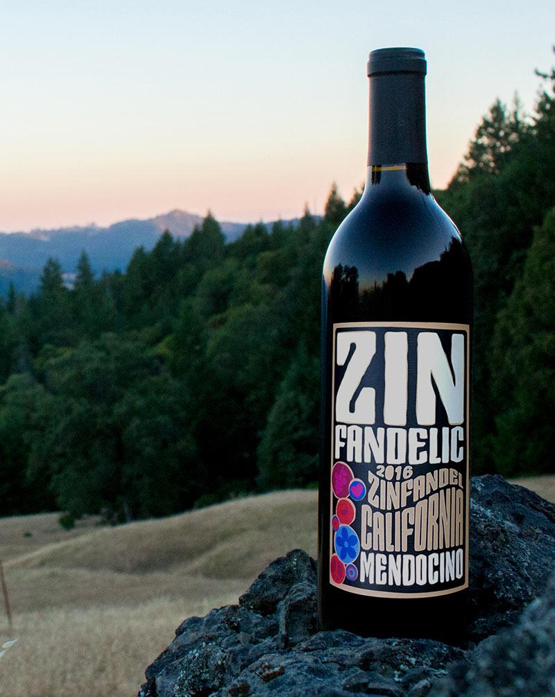 Zinfandelic Mendocino Zinfandel Wine