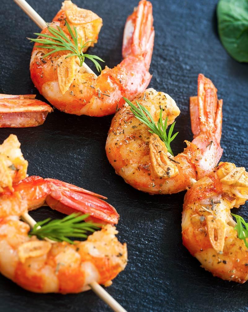Chorizo Shrimp Stacks Recipe - Zinfandel Wine Pairings