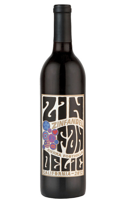 2012 Sierra Foothills Old Vine Zinfandel - Bottle