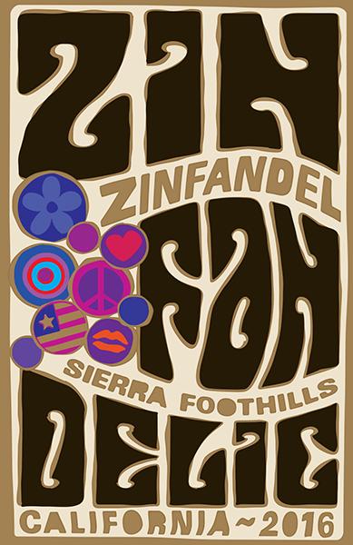 2016 Sierra Foothills Old Vine Zinfandel - Label