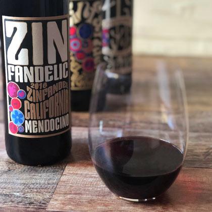 Zindandelic family of wines